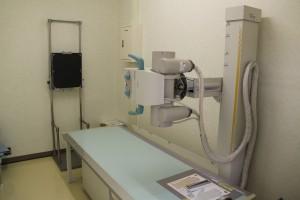 レントゲン(肺、腹部の撮影、骨密度の測定を実施)